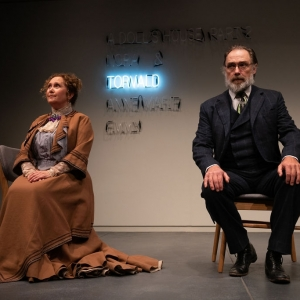 A Doll's House, Part 2 production at Hudson Stage Company - Denise Bessette and Kurt Rhoads