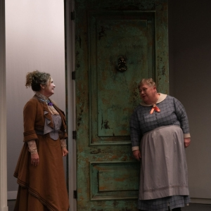 A Doll's House, Part 2 production at Hudson Stage Company - Denise Bessette and Mary Stout