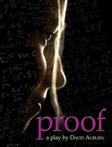 PROOF by David Auburn at Hudson Stage Company - March 29 - April 13, 2019